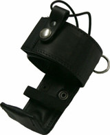 Fire Fighter Deluxe Radio Holder - Adjustable Fit Leather 2