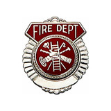Fire Department Tie Tack (gold or silver)