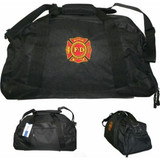 Firefighter Logo Station Duffle Bag