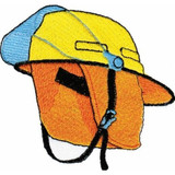 Embroidered Logo - F21 (Chest Size) Firefighter Hat