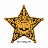 Decal - Sheriff's Dept (Window Size)