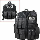 Tactical Raid Vest (BLACK)
