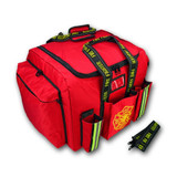 Fire Gear Bag DELUXE STEP-IN By Lightning-X - RED