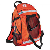 Orange Arsenal 5243 Deluxe Backpack Trauma Bag with Reflective Trim - Front View