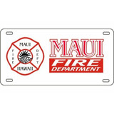 LICENSE PLATE - Maui Fire Department