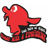 Decal - Sleep With A Firefighter (5 inch)