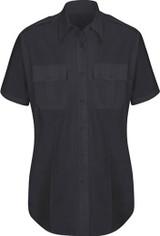 Horace Small Women's New Dimension® Plus Short Sleeve Poplin Shirt