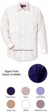 Horace Small Women's New Dimension Poplinshort Sleeve Shirt
