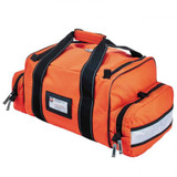 Orange Arsenal 5215 Deluxe Large Trauma Bag with Reflective Trim - Back View