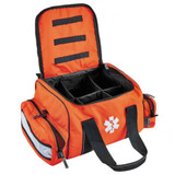 Orange Arsenal 5215 Deluxe Large Trauma Bag with Reflective Trim - Open View
