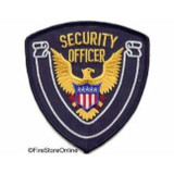 Patch - Security Officer Shield (Midnight with Midnight Border)