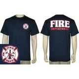 Fire Department Reflective Duty T-Shirt
