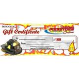 Fire Store Online $100 eGIFT CERTIFICATE