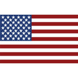 Decal - American Flag (Window Size)