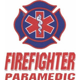 Decal - Firefighter/PARAMEDIC (Window Size)