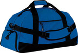 LARGE Duffel Bag w/ CUTOM EMBROIDERED LOGO (ROYAL)