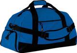 Large Duffel Bag w/ Custom Embroidered Logo (Royal)