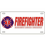 LICENSE PLATE - Firefighter/EMT