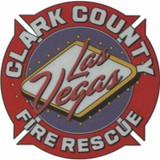 Decal - LAS VEGAS CLARK COUNTY Fire Rescue (Window Size)