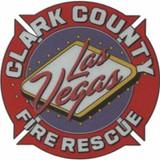 Decal - LAS VEGAS CLARK COUNTY Fire Rescue (Window Size)