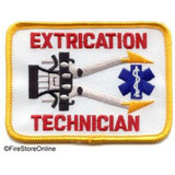 Patch - Extrication Technician (Yellow Border)