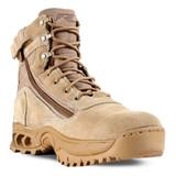 Ridge Tan Desert Storm Side Zipper Mid Boot - Front