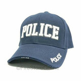 Police HAT (3D Puff Embroidery - NAVY hat)