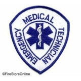 Patch - EMT (Shield White/Royal)