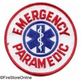 Patch - EMERGENCY PARAMEDIC (Circle)