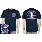 Huntington Beach Fire Dept RESCUE 1 Duty T-Shirt [Orange County]