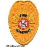 Patch - Fire Dept Badge (Gold)
