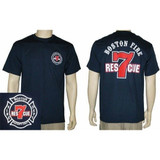 Boston Fire Dept RESCUE 7 T-Shirt
