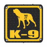 Decal - K-9 Square (4 Inch)