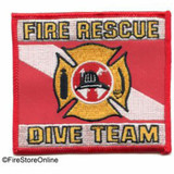 Patch - Dive Rescue REFLECTIVE