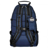 Blue Arsenal 5243 Deluxe Trauma Backpack Trauma Bag with Reflective Trim - Back View