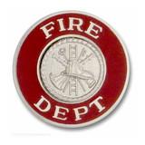 Hookfast Collar Insignia QS-3324 (Fire Dept)