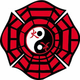 Decal - BAGUA Maltese (2 Inch) (Good Fortune or Luck)