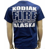 Kodiak Alaska Fire Department Duty T-Shirt - Back