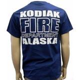 Kodiak Alaska Fire Department Duty T-Shirt - Back