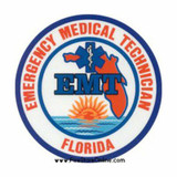 Decal - Florida EMT (Window Size)