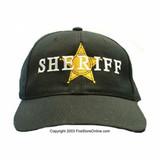Sheriff 5-Point Star Hat