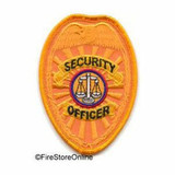 Patch - Security Officer Badge (Gold)