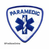 Patch - PARAMEDIC (Shield White and Royal)