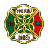 Decal - Proud to be Irish (Helmet Size)