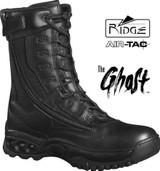 "Ridge Air-Tac GHOST 8"" Side-Zip Duty Boot - Steel Toe"