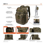 5.11 Tactical Rush12™ 2.0 Backpack 24L