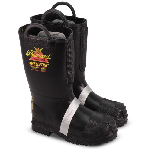 Thorogood Hellfire – Men's 14″ FELT INSULATED RUBBER BUNKER BOOT