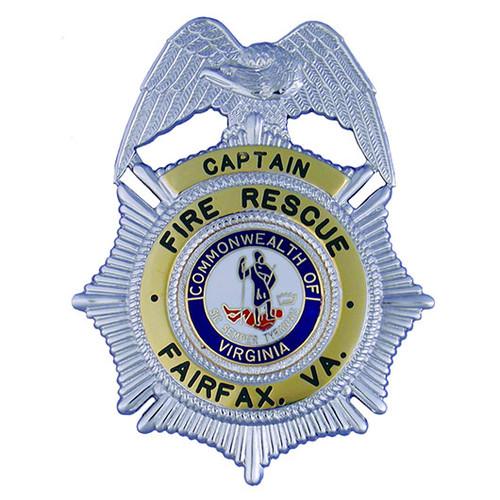 """Hookfast 2-TONE Badge QS-B10019T (3 1/4""""h x 2 1/2""""w)"""