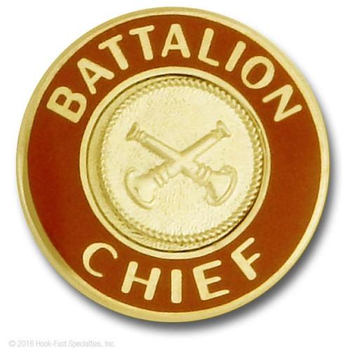 Hookfast Collar Insignia QS-3322 (Battalion Chief)