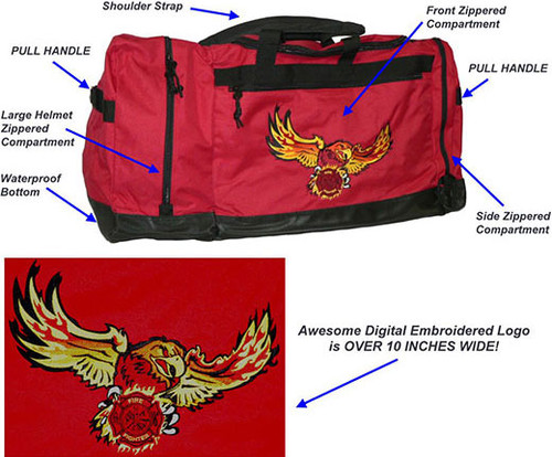 Ultra-Series FIRE EAGLE Gear Bag (LARGE w/Embroidered Logo)